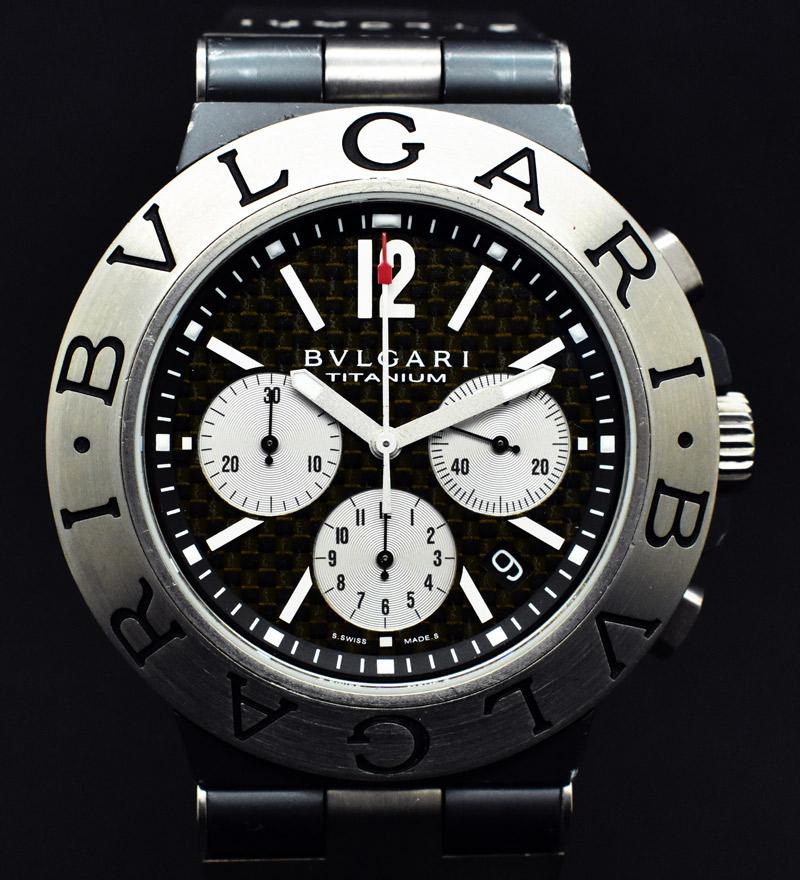 a8db206bc5e Inicio Bulgari Bulgari Diagono Titanium 44 Chronograph. 🔍. Vendido