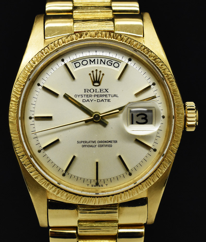 Day 1807 Date Rolex Bark President Oyster Finish QxoWCdBreE